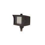 20W Flood Light w/ Knuckle Mount & Photocell Sensor, Wide, Dim, 2300 lm, 4000K