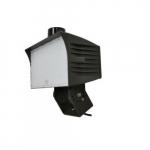 120W FloodMax LED Flood Light, Swivel, 0-10V Dim, 450W MH/HPS Retrofit, 14,300 lm, 5000K