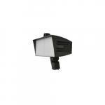 200W LED XLarge Flood Light w/ Slipfitter Mount & 3-Pin Receptacle, Wide, Dim, 4000K