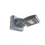 55W LED Wall Light w/ -20 Deg Backup & Photocell, Type IV, 6200 lm, 120V-277V, 4000K