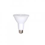 12W LED PAR30 Bulb, Long Neck, Standard Flood, 0-10V Dimmable, 90 CRI, E26, 900 lm, 3000K