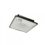 30W LED Canopy Light Fixture, 150W MH Retrofit, Dim, 3327 lm, 4000K, Bronze