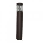 """42"""" 17W LED Bollard, Type 3, Flat Top, 70W MH Retrofit, 1,081 Lumens, 5000K, Bronze"""