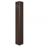 """20-Ft 4"""" Square Pole, 11 Gauge Walls, Drilled AR Series"""
