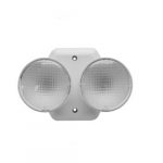 2W LED Emergency Lights, 6 Volts, Non-Dimming, Two-Headed