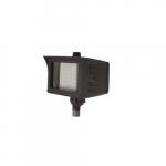 20W Flood Light w/ Knuckle Mount & Photocell Sensor, Narrow, Dim, 2300 lm, 5000K