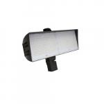 310W LED XLarge Flood Light w/ Slipfitter & 7-Pin, Dim, 39600 lm, 480V, 4000K