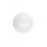 "15W LED 7"" Round Ceiling Flush Mount, Dim, 1200 lm, 2700K, White"