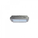 26W Hazard Rated LED Wall Pack, 70W HID Retrofit, 3199 lm, 4000K, Grey