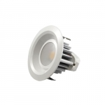 "4"" 9W Recessed LED Downlight, 50W Inc. Retrofit, Dim, 475 lm, 120V, 2700K, White"