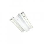 40W 2x2' LED Troffer Retrofit Kit, 0-10V Dimmable, 3630 lm, 3500K
