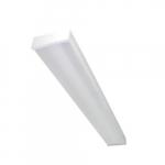 4-Ft LED Utility Wrap Light w/ Battery Backup, T8 & T5 Tube Equivalent, 4923 lm, 5000K