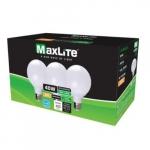 6W LED G25 Bulbs, 0-10V Dimmable, 40W Inc Retrofit, 450 lm, 2700K, 3 Pack