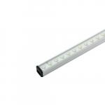 12W 2-ft LED Lightbar Fixture, Plug & Play, Dimmable, 600 lm, 3500K