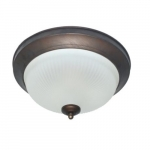 15-In 15W LED Flush Mount Ceiling Light, Dimmable, 60W Inc Retrofit, 804lm, 2700K