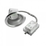 """38W 6"""" LED Recessed Downlight, Dimmable, 3000 lm, 3000K"""
