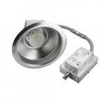 8-In 38W Commerical LED Downlight, Recessed, Flood Beam Angle, 0-10V Dim, 3081 lm, 3000K