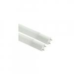 15W 4-Ft LED T8 Tube, Ballast Bypass, Single-End, G13, 1800 lm, 3500K