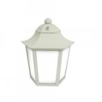 12W LED Outdoor Medium Wall Lantern w/ Motion, 40W Inc Retrofit, 511 lm, 2700K
