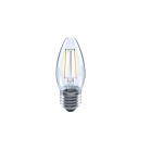 2.5W Vintage LED Edison Bulb, B11, Dimmable, 2200K, Clear