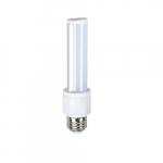 6W Retrofit LED PL Bulb, E26 Base, 2700K