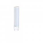 8W Horizontal LED PL Bulb, 725 lm, Direct Line Voltage, GU24, 4000K