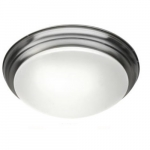 17.1W LED Flush Mount Ceiling Light, 0-10V Dim, 75W Inc Retrofit, 1139 lm, 2700K