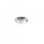 23W LED Flush Mount Ceiling Fixture, 100W Inc Retrofit, Dim, 1780 lm, 2700K
