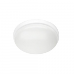 24W LED Flush Mount Ceiling Fixture, 100W Inc Retrofit, Dim, 1697 lm, 2700K