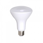8W LED BR30 Bulb, E26 Base, Dimmable, 4000K