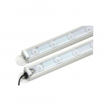 6-Ft 24W LED Cooler and Freezer Light Fixture, Dimmable, Batwing Beam, 2021 lm, 3000K
