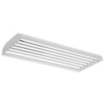 235W, 4 Foot LED Linear High Bay Fixture w/ Battery Backup & On/Off Sensor