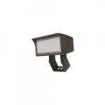 120W LED Medium Flood Light w/ Trunnion Mount, 175W MH Retrofit, Dim, 6900 lm, 4000K