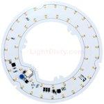 8W 2.2 Inch Diameter LED Round Light Engine, 3000K, 90 CRI, 670 Lumens