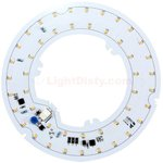 17 W 5.5 Inch Diameter LED Round Light Engine, 3000K, 90 CRI, 1430 Lumens