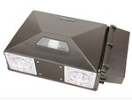 Photocell, 60W Precision LED Security Wall Pack, 5000K