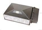 347V - 480V, 90W Precision LED Security Wall Pack, 5000K, Bronze
