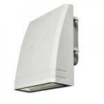 15 Watt White LED Slim Wall Pack, 4000K
