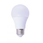 9W LED A19 Light Bulb, Dimmable, 2700K