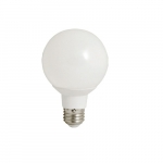 6W LED G25 Bulb, Flood Light, 2700K