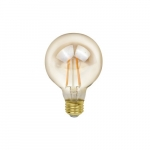 5W LED G25 Filament Bulb, Dimmable, 2200K