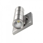 10W LED Wall Light, 90W Inc. Retrofit, 700 lm, 3000K, Nickel
