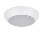 16W LED Flush Mount Compact Light, 3000K