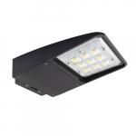 50W LED Area Light, Dimmable, Dark Bronze, 5000K