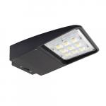 180W LED Slim Area Light, Dimmable, Dark Bronze, 5000K