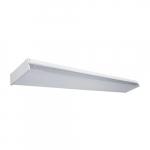 38W LED Utility Wrap Light Fixture, 5000 lm, 4000K, White