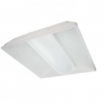 20W 2' x 2' LED Troffer Light Fixture, Dimmable, 4000K