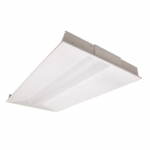 45W 2' x 4' LED Troffer Light Fixture, Dimmable, 5000K