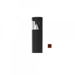 18W LED 3.5-ft Bollard Pathway Light, Flat Top, 100W MH Retrofit, 1300 lm, 5000K, Bronze