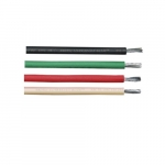 250-ft Armored Conductor Cable Coil, 150 lb Max Capacity, Black, White, Red, Green